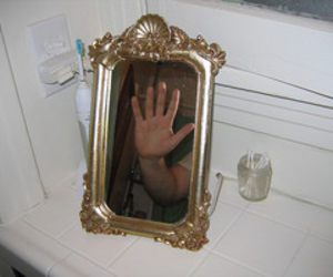 mirror, aesthetic, and grunge image