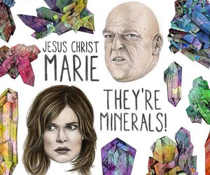 breaking bad, minerals, and Hank image