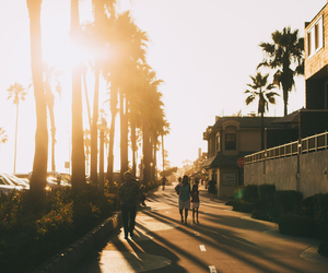 california, beach, and photography image