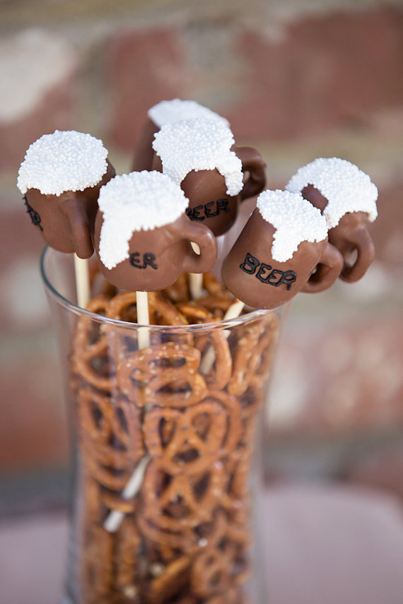 beer, cake pops, and chocolate image