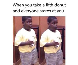 donut and funny image