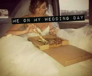 dress, food, and pizza image