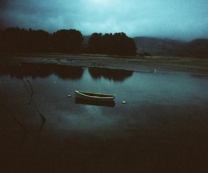 boat, lake, and photography image