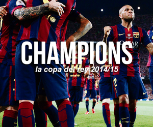 Barcelona, messi, and copa del rey image