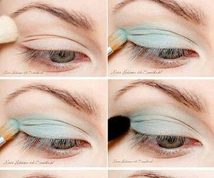 chicas, eyes, and fashion image
