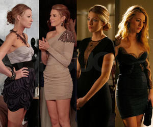 gossip girl, fashion, and blake lively image