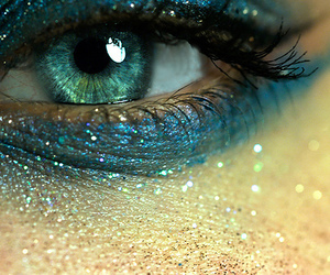 azul, blue, and olhos image