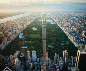 beautiful, building, and Central Park image