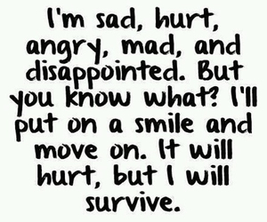 angry, mad, and hurt image