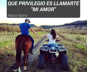 amor, caballos, and mi amor image
