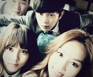 friend, korean, and eun bi image