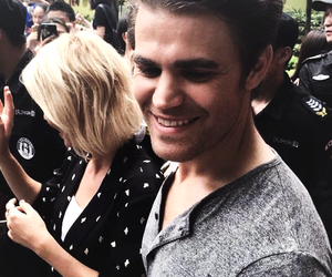 con, the vampire diaries, and paul wesley image
