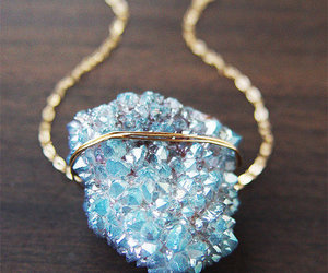 blue, crystal, and accessories image