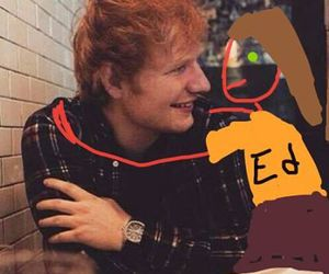 ed sheeran, celebrities, and funny image
