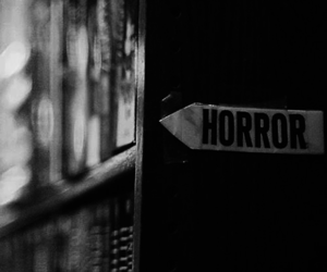 horror, book, and black and white image