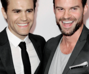paul wesley, daniel gillies, and tvd image
