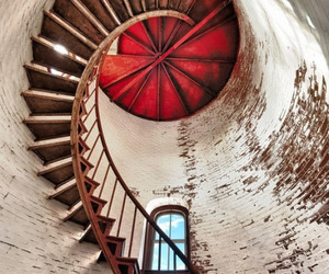 stairs and red image