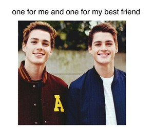 best friends and twins image