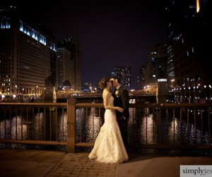 bow, gown, and wedding dress image