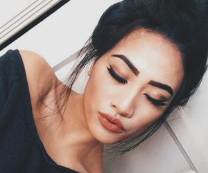 makeup, girl, and pretty image