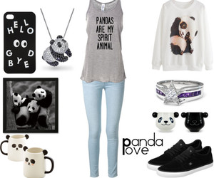dc shoes, panda love, and mine image
