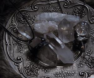 crystal, magic, and silver image
