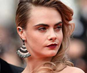 cara delevingne and face image