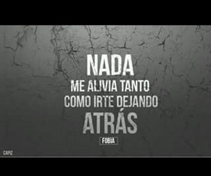 frases, nada, and fobia image
