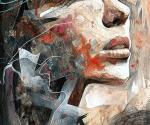 art, confess, and auburn image