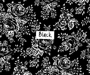 black, no color allowed, and outlines image