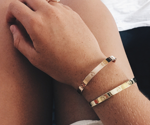 bracelets, classy, and hands image