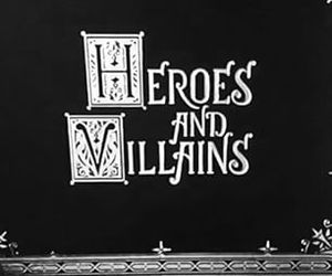book, heroes and villains, and ouat image