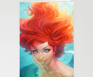 ariel, art, and art for sale image