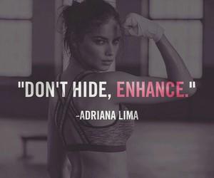 Adriana Lima, motivation, and workout image