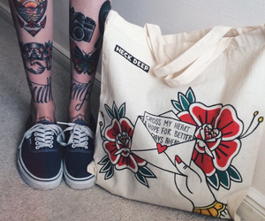 alternative, bag, and art image