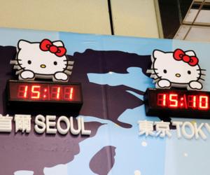 hello kitty, seoul, and tokyo image