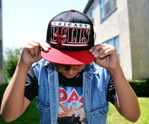 swag, chicago bulls, and boy image