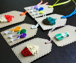 bookmark and quilling image