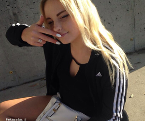 fashion, adidas, and beautiful image