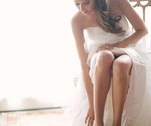 beautiful, woman, and bridal image