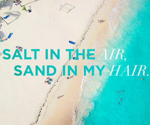 beach, sand, and quotes image