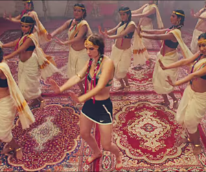 dance, india, and music image