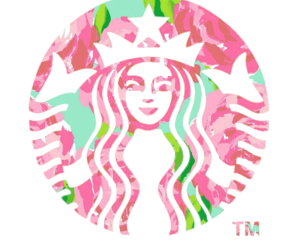 starbucks, pink, and transparent image