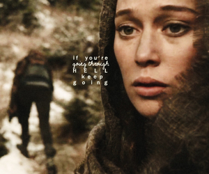 lexa, the 100, and the hundred image
