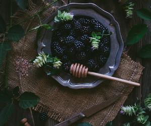 blackberry, berries, and food image