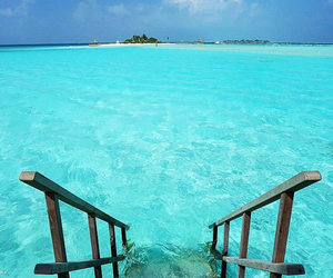 beautiful, vacation, and ocean image