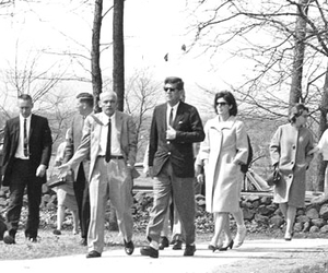 Jackie Kennedy, JFK, and jackie o image