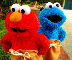 elmo, red, and cute image