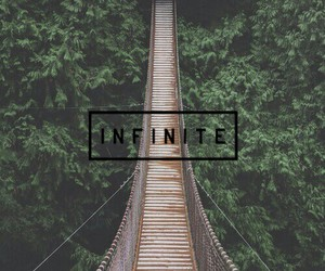 infinite, bridge, and wallpaper image