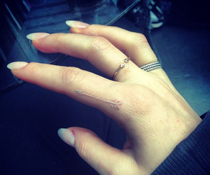 tattoo, arrow, and Ellie Goulding image